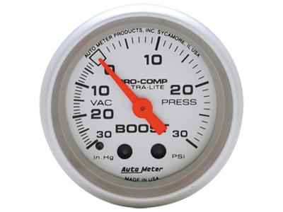 Ultra Lite Boost / Vacuum gauge