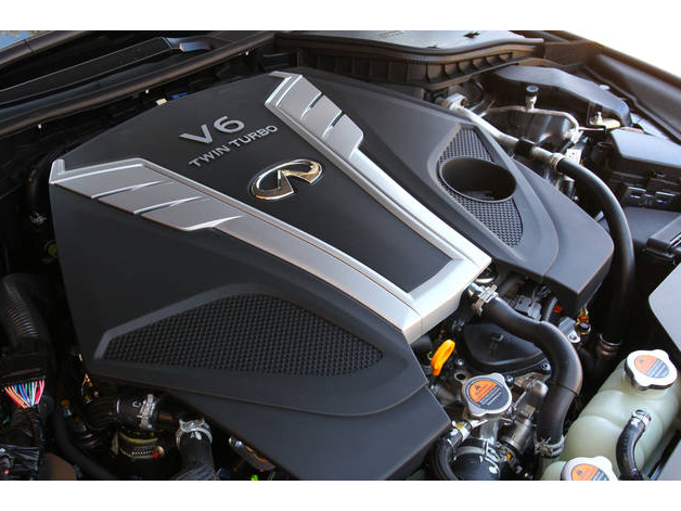 Oem Engine Cover Fits All 2016 Infiniti Q50 Q60 Models Equipped With A 3 0t Vr30ddtt Train