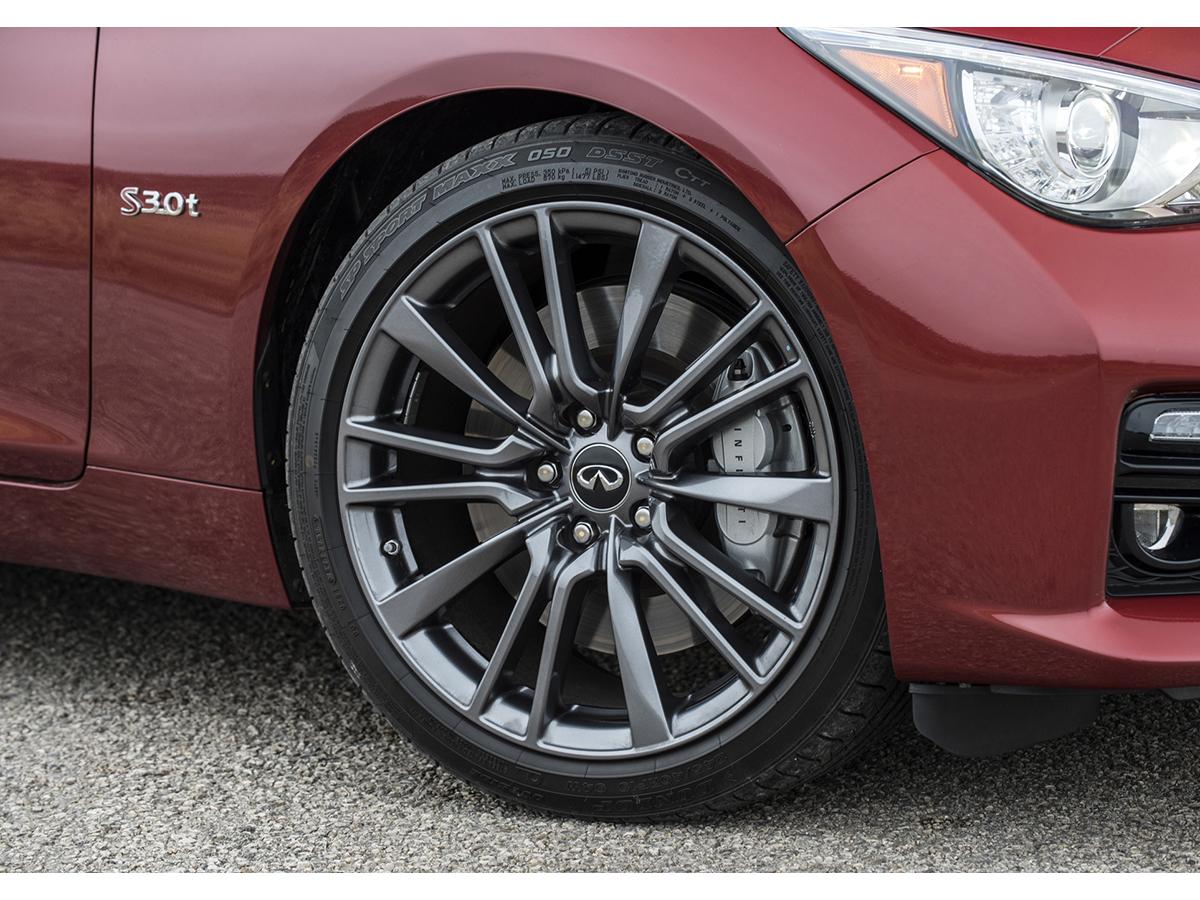 355b42f6c5ab OEM Q50 Red Sport Wheels  745.30