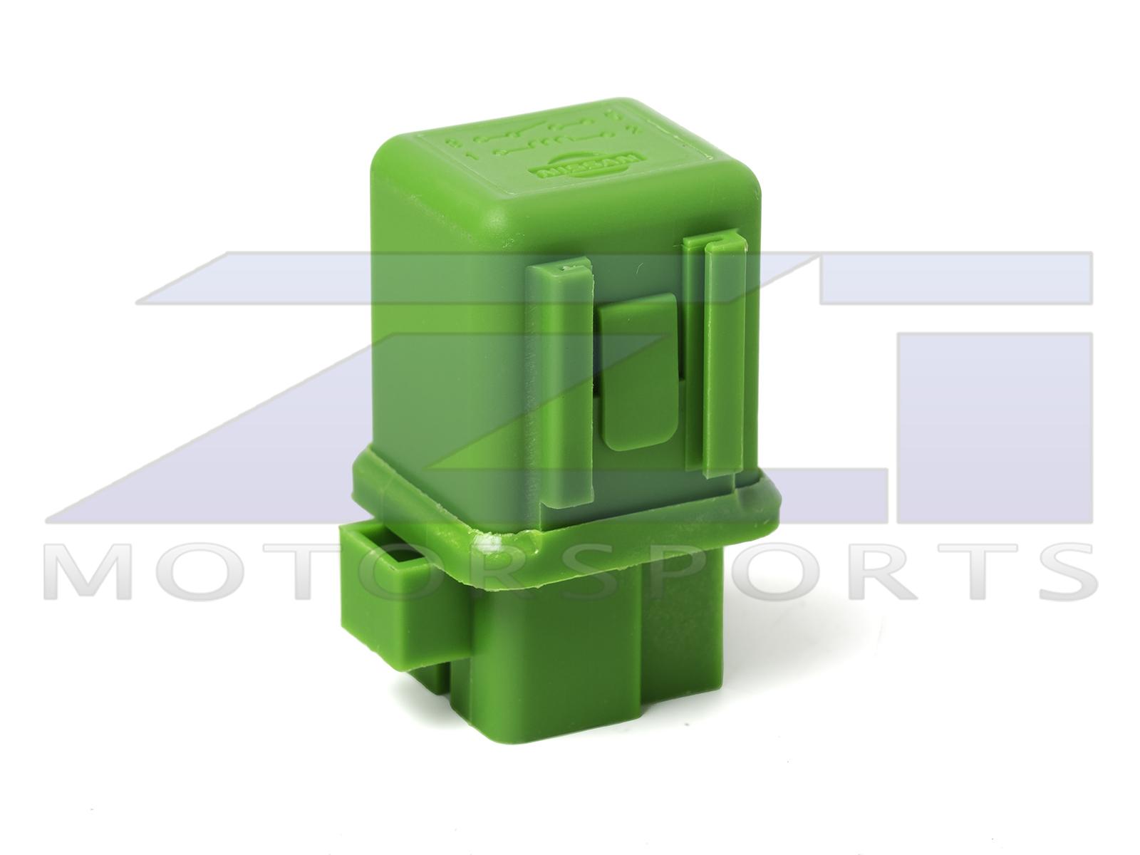 OEM '90-'95 300ZX Ignition / Fuel Pump / PTU / HICAS Relay (Green)