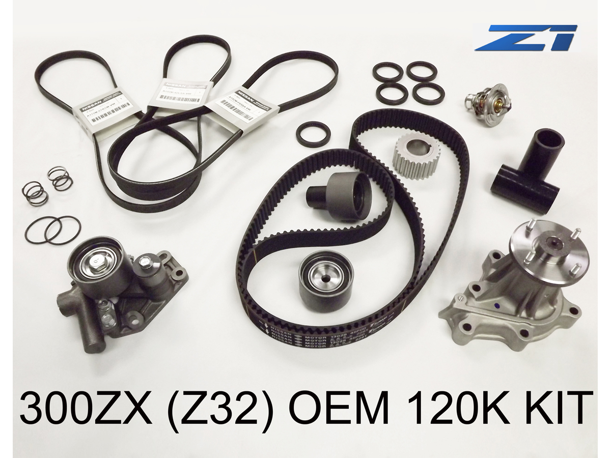 300zx Oem Nissan 120k Timing Kit Z1 Motorsports The Belt And Front Oil Seal On A Z32 Service Includes 1