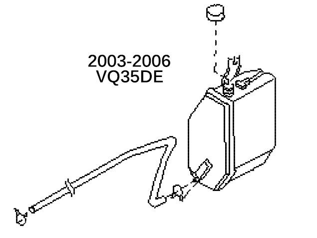 350ZCoolantReservoirDE oem coolant reservoir tank assembly 350z, z1 motorsports