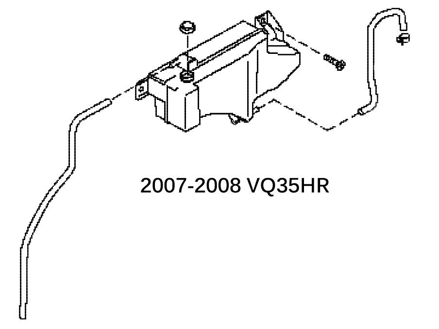 350z radiator transmission cooler diagram