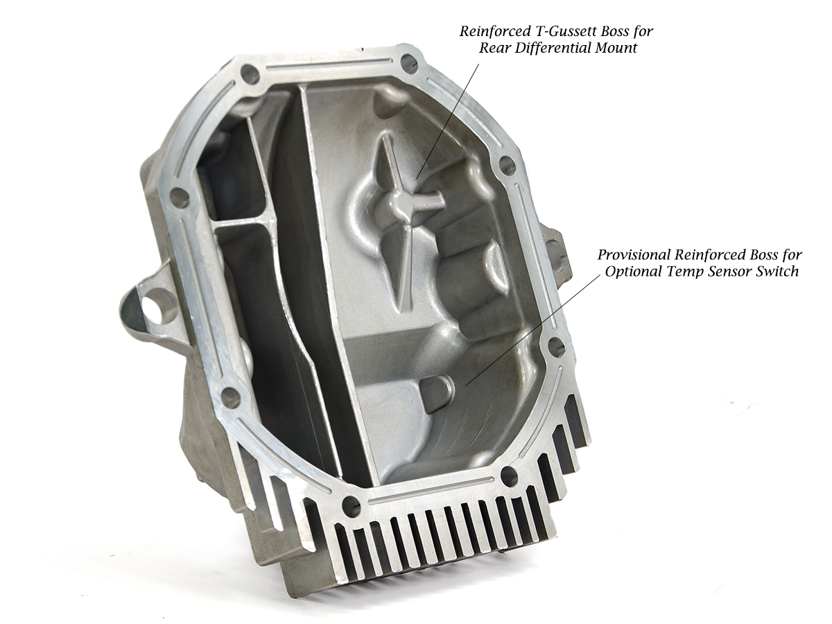 Z1 Motorsports High Capacity Differential Cover Kit, Z1 Motorsports
