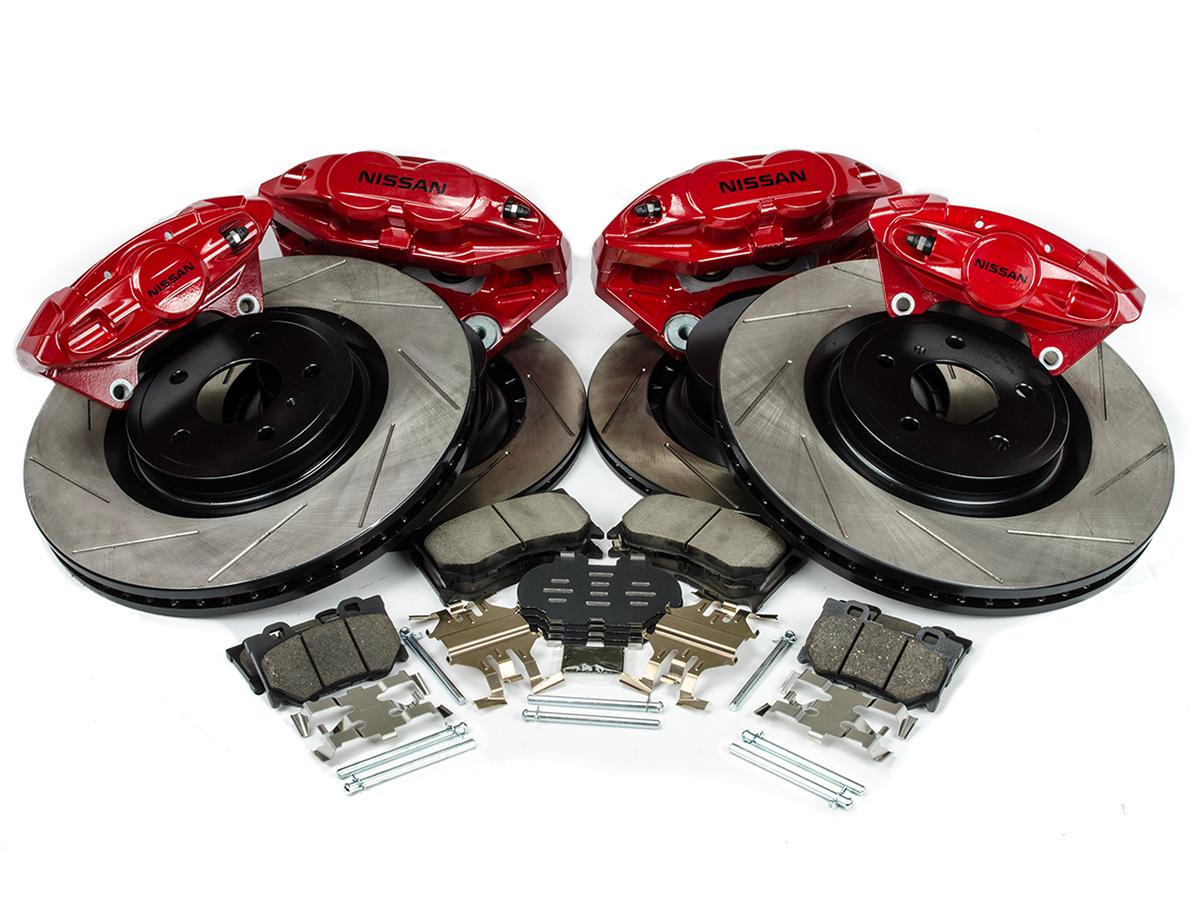 Z1 Akebono Sport Brake Upgrade Package (Front & Rear)