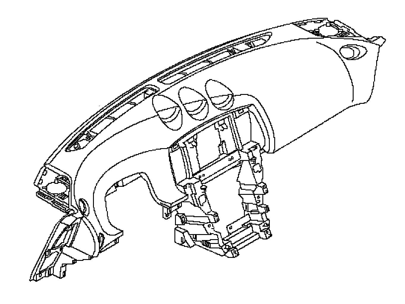 OEM 370Z Dash Board Assembly