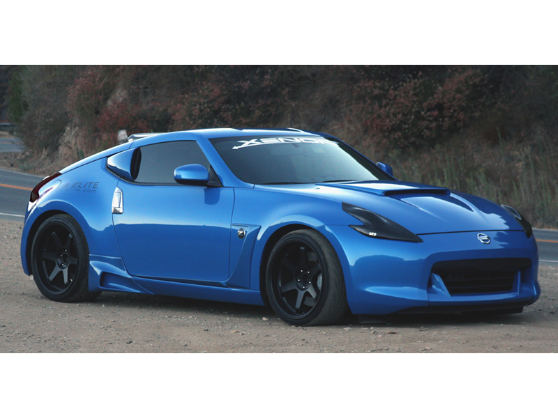 Xenon 370z Quarter Window Scoop Z1 Motorsports
