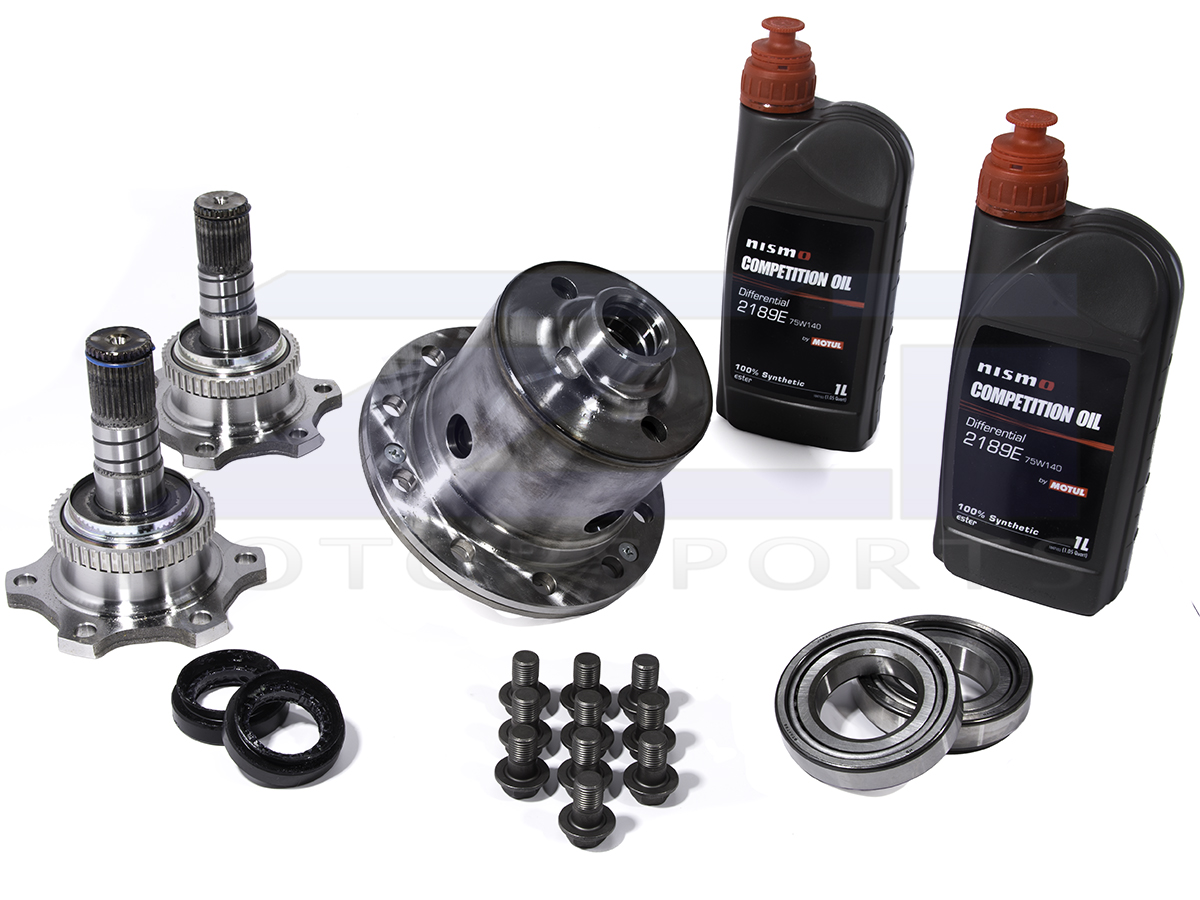 Limited Slip Differential >> Nismo Gt Pro Clutch Type Limited Slip Differential