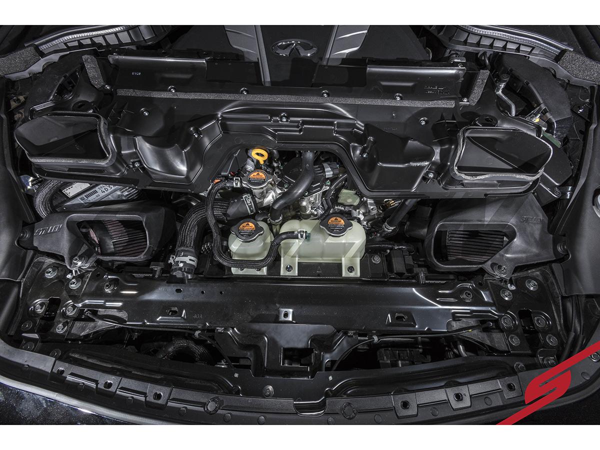 Stillen Q50  Q60 30t Short Ram Intake    System     CARB