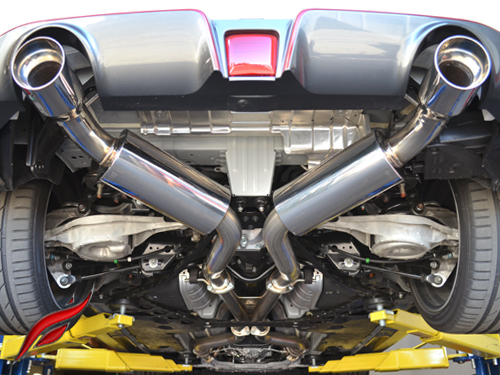 Fast Intentions 370Z Twin Turbo TDX 3'' Cat Back Exhaust
