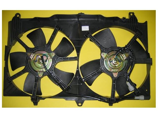 350z G35 Radiator Cooling Fan Assembly Z1 Motorsports