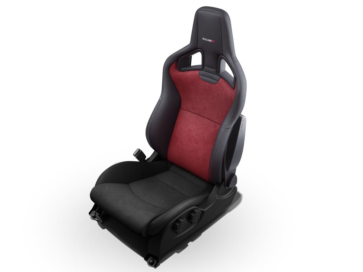 oem nismo seat back assembly z1 motorsports. Black Bedroom Furniture Sets. Home Design Ideas