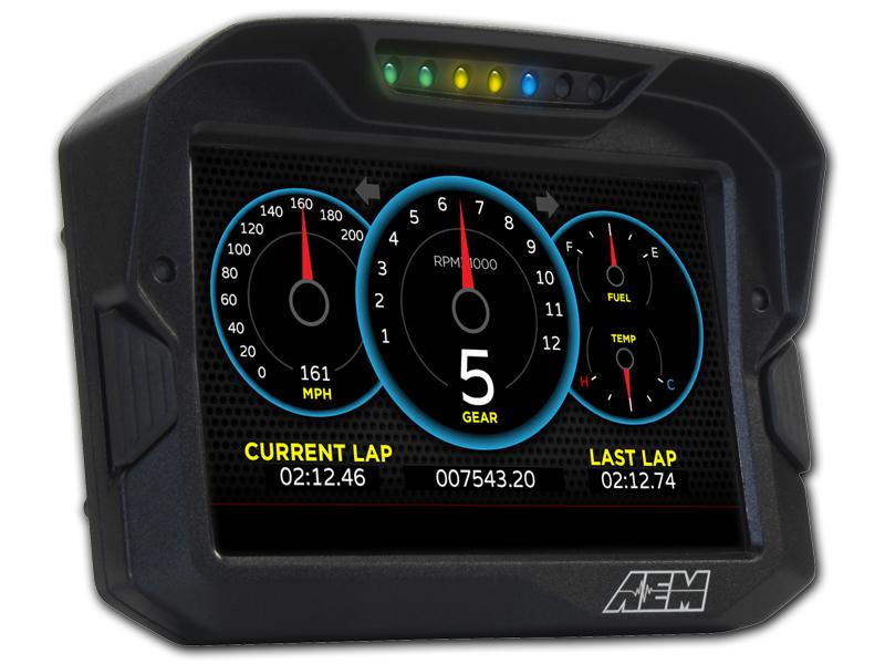 AEM CD-7 CAN Digital Dash Racing Displays