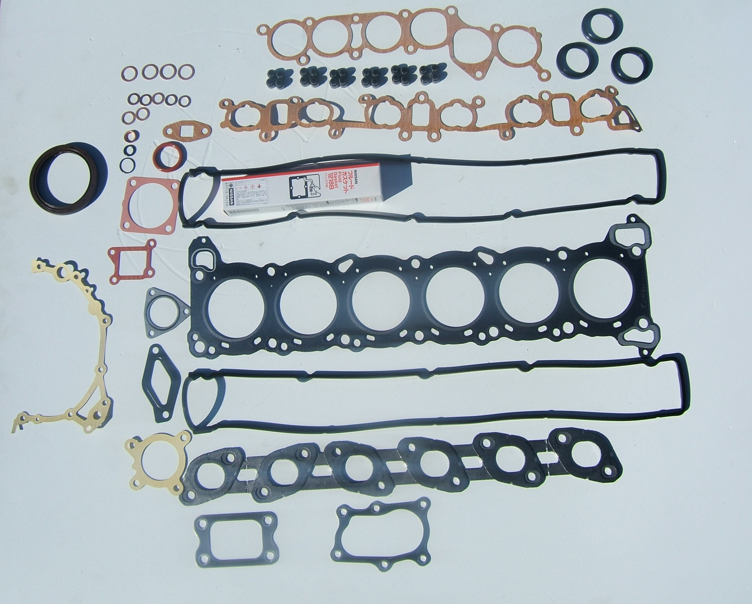 Oem Rb20det Gasket Rebuild Kit Z1 Motorsports Nissan 240sx S13 Transmission Harness Wiring Specialties New For The Rb20 This Is Recomended Ayone Who About To Swap There Motor Into S Chassis Car Replace All