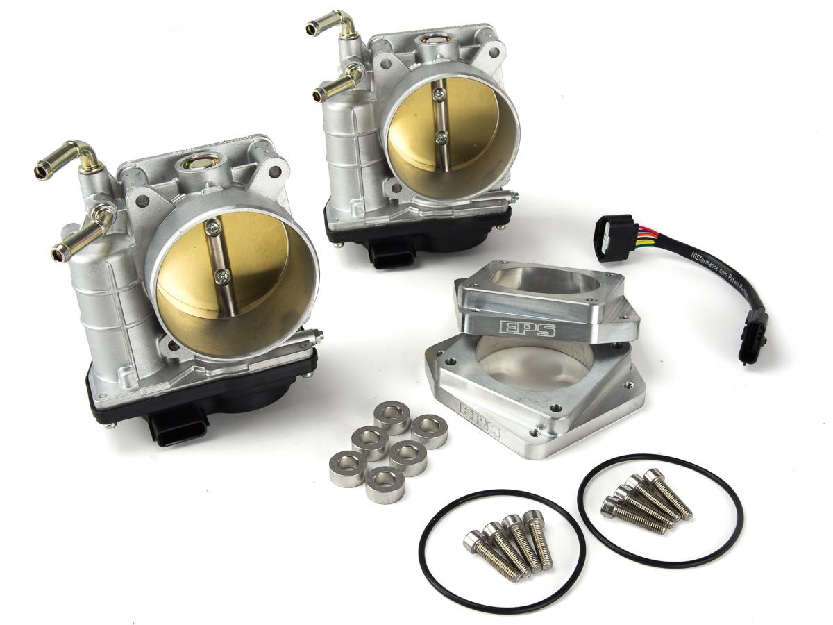 Eps 70mm Big Bore Throttle Body Kit Vq35hr Vq37vhr Z1 Motorsports Infiniti M37 Wire Harness Models 350z 370z G35 G37 Q60 2014 2016