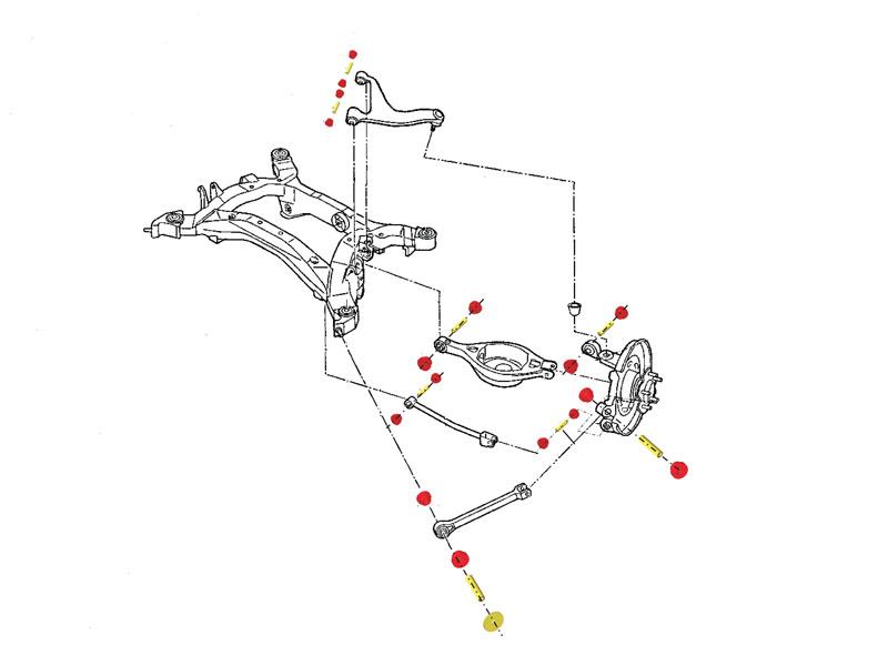 nissan juke suspension diagram