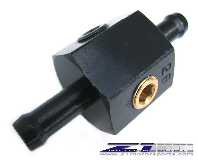 Fuel Pressure Gauge / Nitrous Adapter