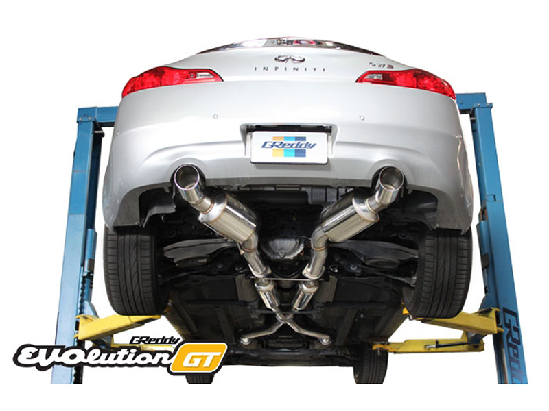 Greddy EVOlution GT G37 Coupe Cat Back Dual Exhaust