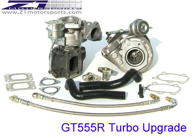 GT555R BB Turbo Kit, Z1 Motorsports 300ZX Performance Specialist