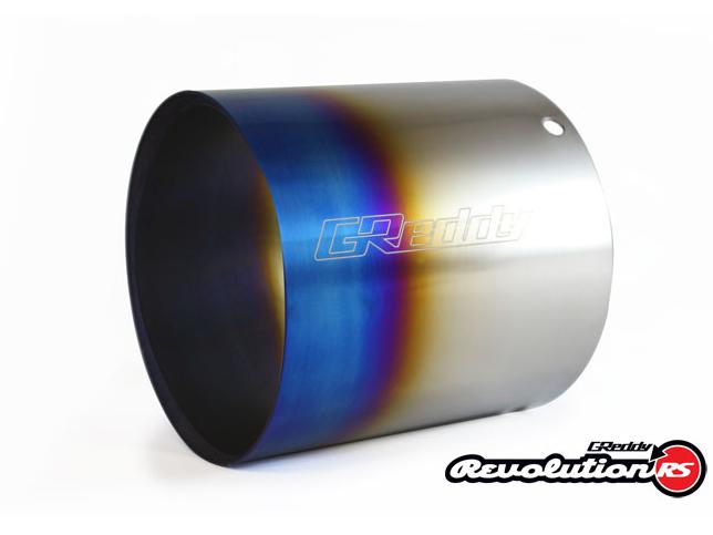Greddy RS-TI Burnt Titanium Exhaust Tip