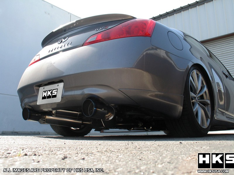 G37 Coupe HKS Hi-Power Ti Exhaust System