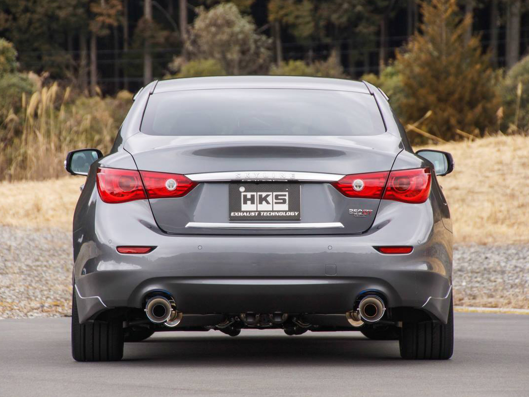 HKS Q50 Stainless Steel Cat-Back Exhaust System