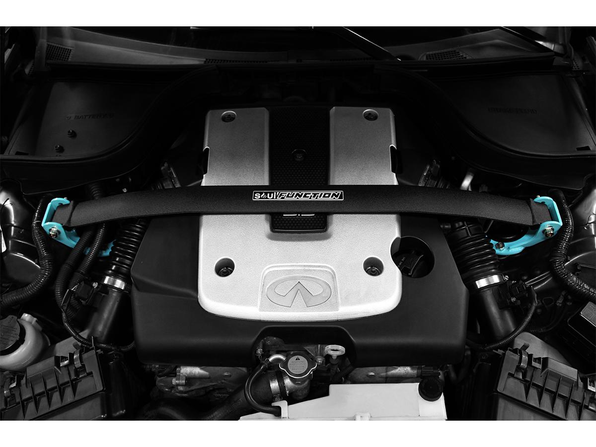 Soul Function G37 / Q60 Front Strut Tower Bar, Z1 Motorsports