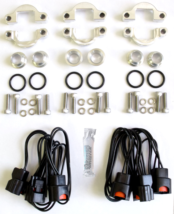 This Adapter Kit Allows You To Install New Style Z32 Pintleless Fuel Injectors Into An Early Rail
