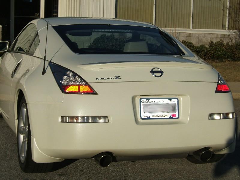 Oem Jdm 350z Tail Lights Jspec 599 00 498