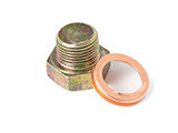 OEM L-Series Oil Drain Plug and Washer
