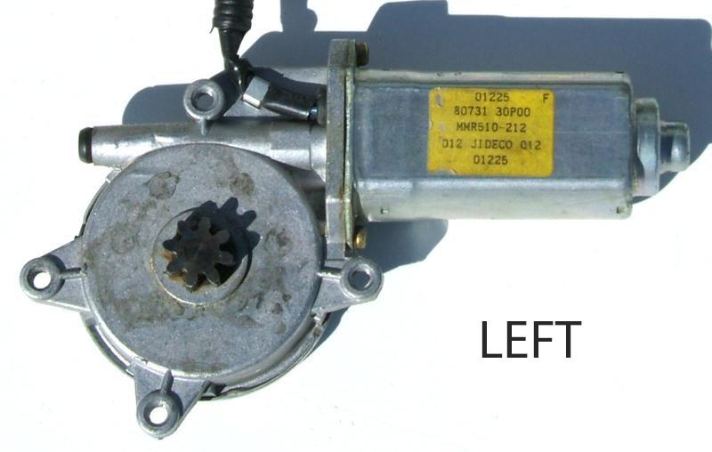 Left Window Motor f058757b used power window motor, z1 motorsports  at webbmarketing.co