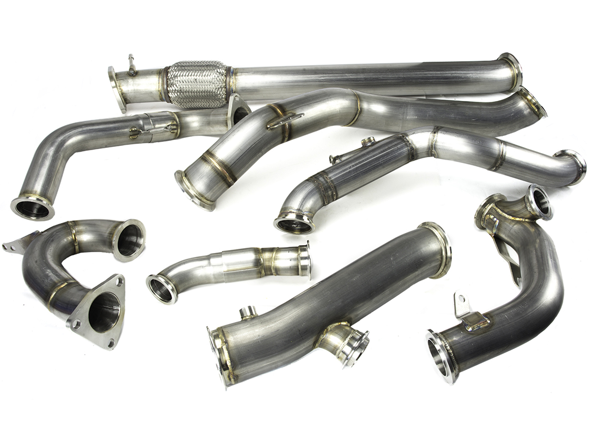 Momentum Performance VQ35DE Single Turbo Piping - Hot Side