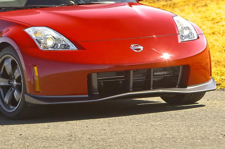 2006 nissan 350z nismo body kit