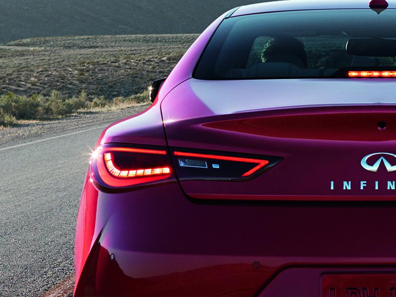 OEM Infiniti Tail Lamp Lenses Fit All 2017 Infiniti Q60 Coupe Models.