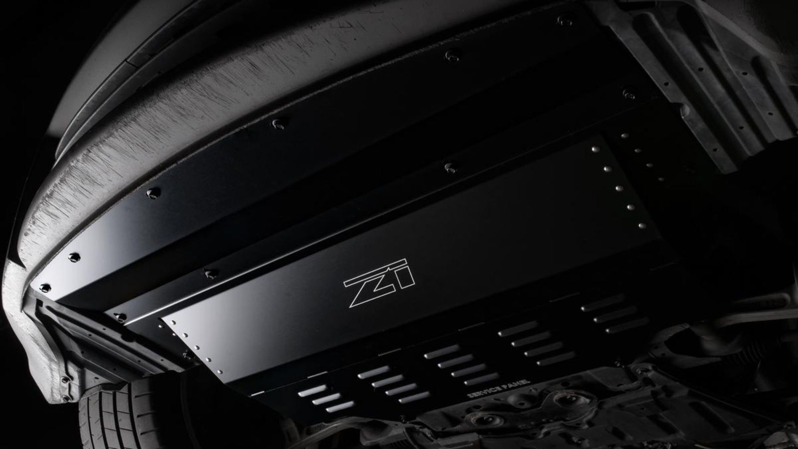 BACK IN BLACK Z1 Aluminum Undershrouds are now available in black anodized finish!