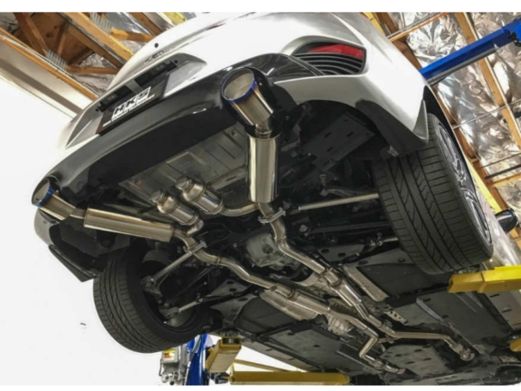 HKS Q60 Stainless Steel Cat-Back Exhaust System, Z1