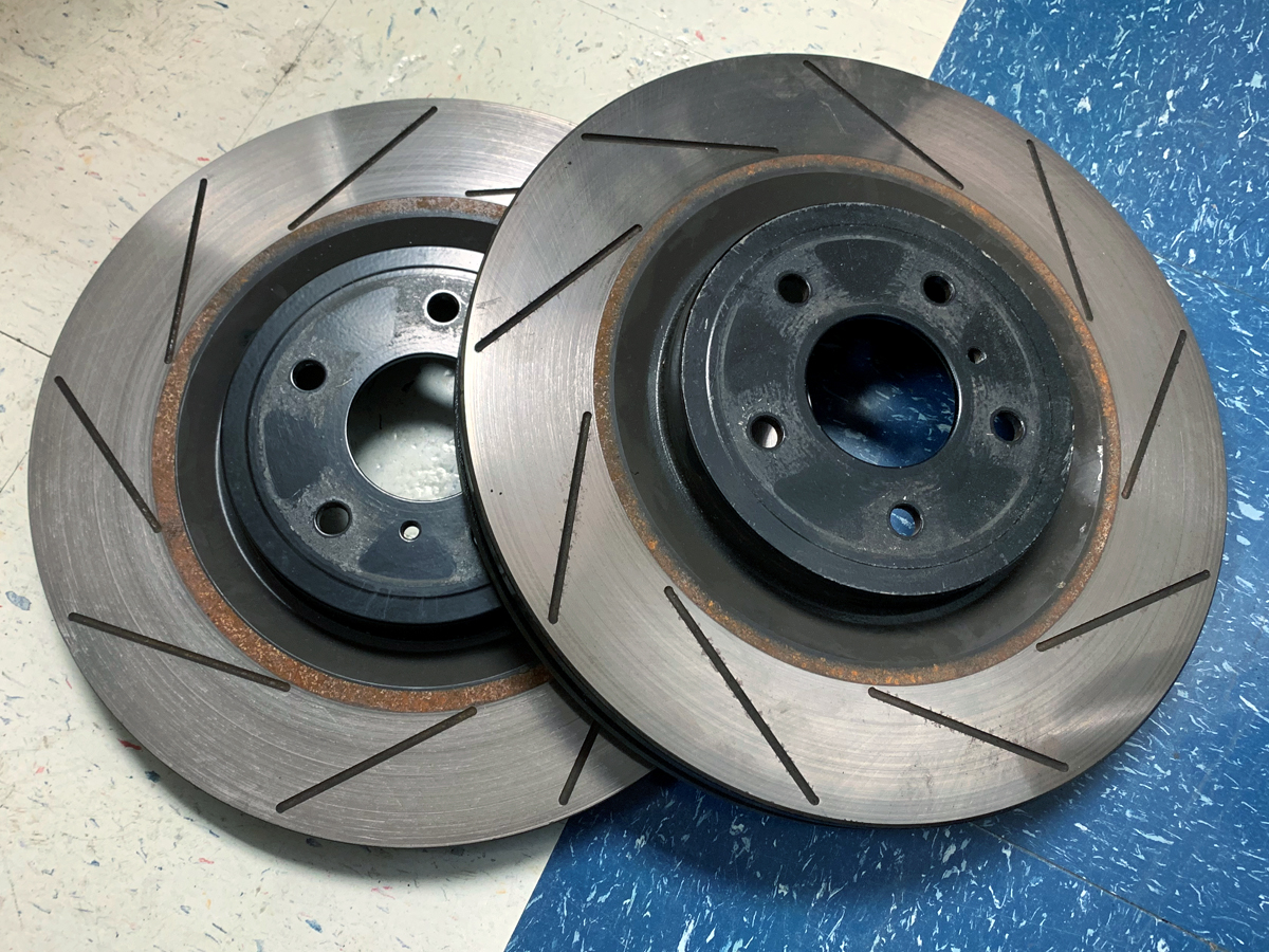 Rear Brake Rotors For Nissan 240SX 1989-1990-1991-1992-1993-1994-1995 to 1998