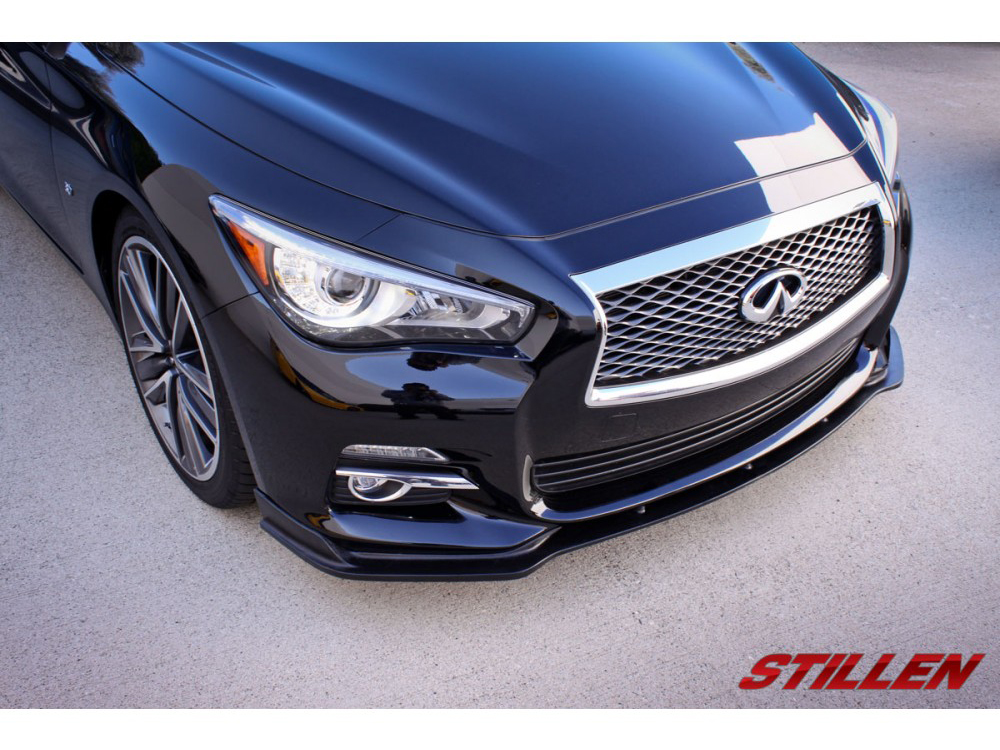 Stillen Q50 Premium Sedan Front Splitter Z1 Motorsports