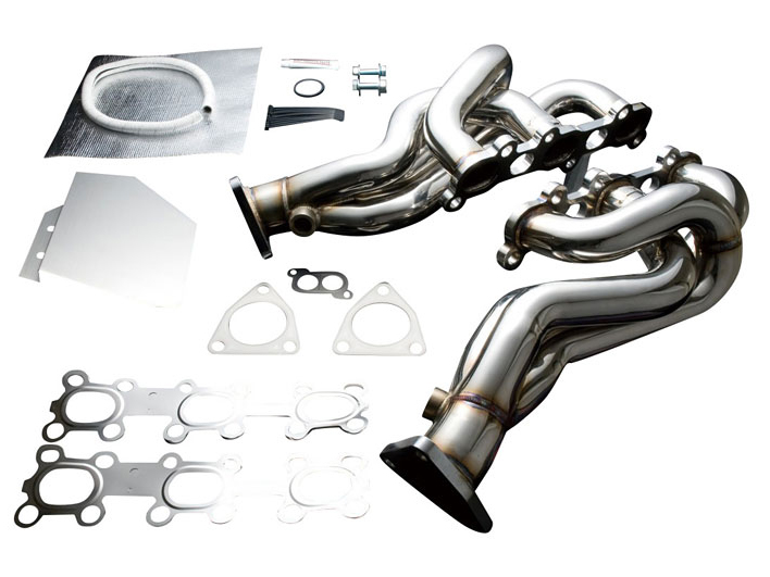 Tomei Expreme VQ Header & Z1 Test Pipe Combo