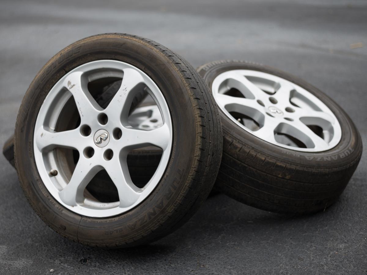 Used Wheels For Sale >> Sale Used 17 G35 Wheels