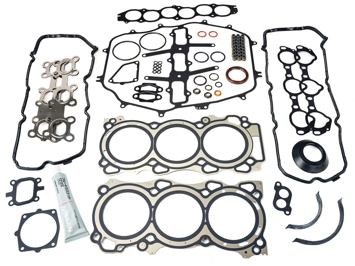 nissan oem vq35 engine gasket set z1 motorsports rh z1motorsports com vq35 engine diagram Nissan Altima 2.5 Engine Diagram