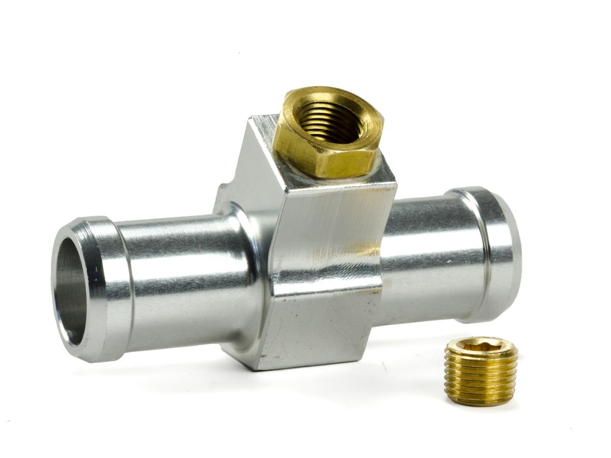 Coolant Temperature Sensor Adapter / Bleeder Port - Heater Hose