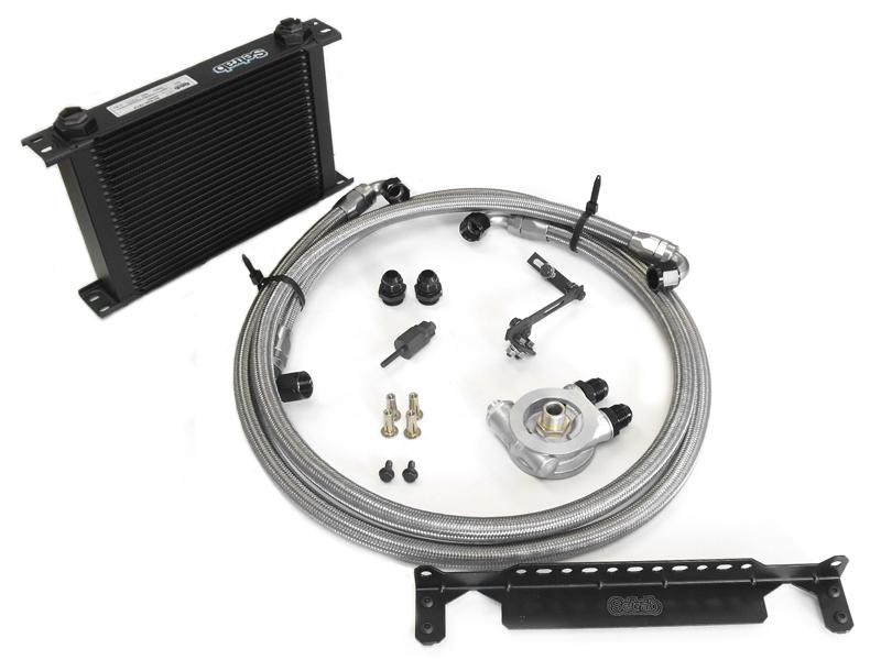 G35 Engine Oil Cooler : Z motorsports g oil cooler kit