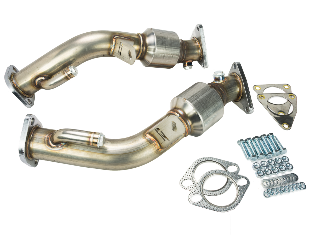 Z1 370z G37 High Flow Metallic Catalytic Converters Z1
