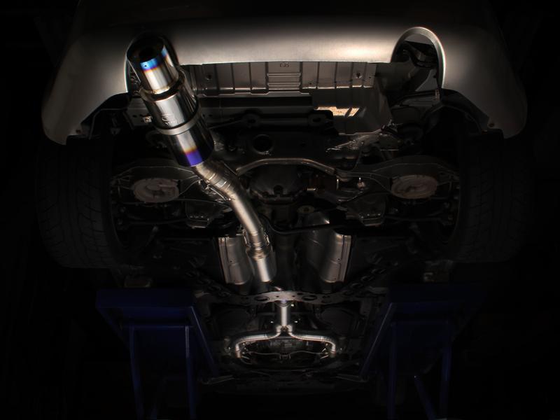 Tomei Expreme Titanium Exhaust 350z Cat Back Z1 Motorsports