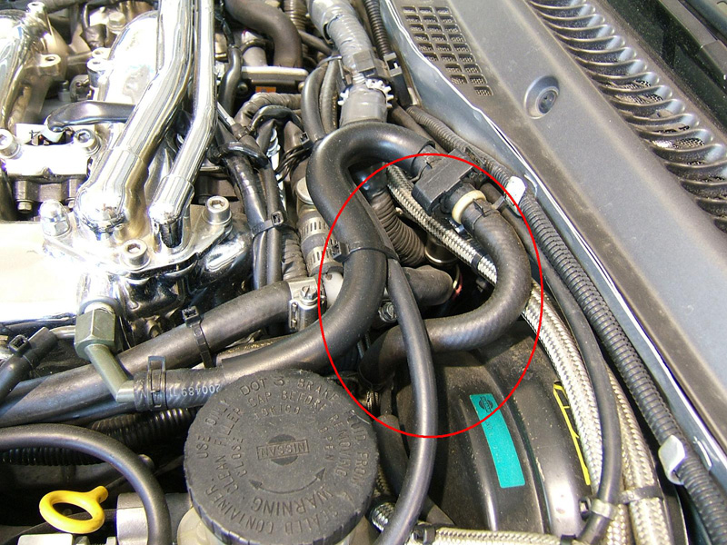Z1 300ZX Silicone Brake Booster Hose (Short), Performance ...
