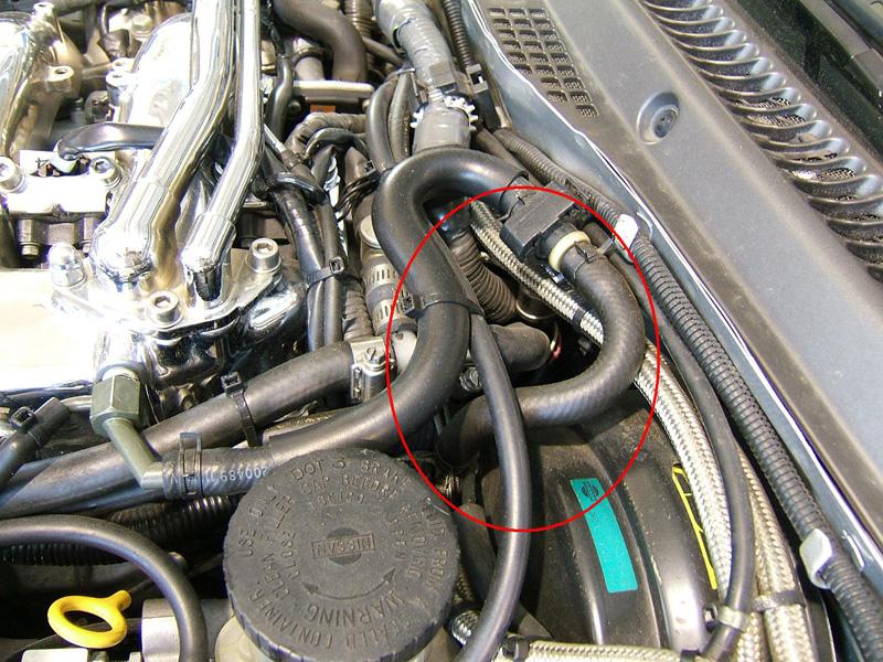 Z1 Silicone Brake Booster Hose Short Z1 Motorsports