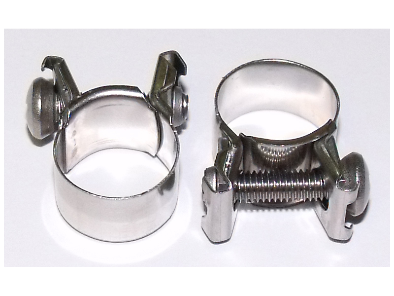 Z32FuelInjectionHoseClamps high pressure fuel injection hose clamp, z1 motorsports