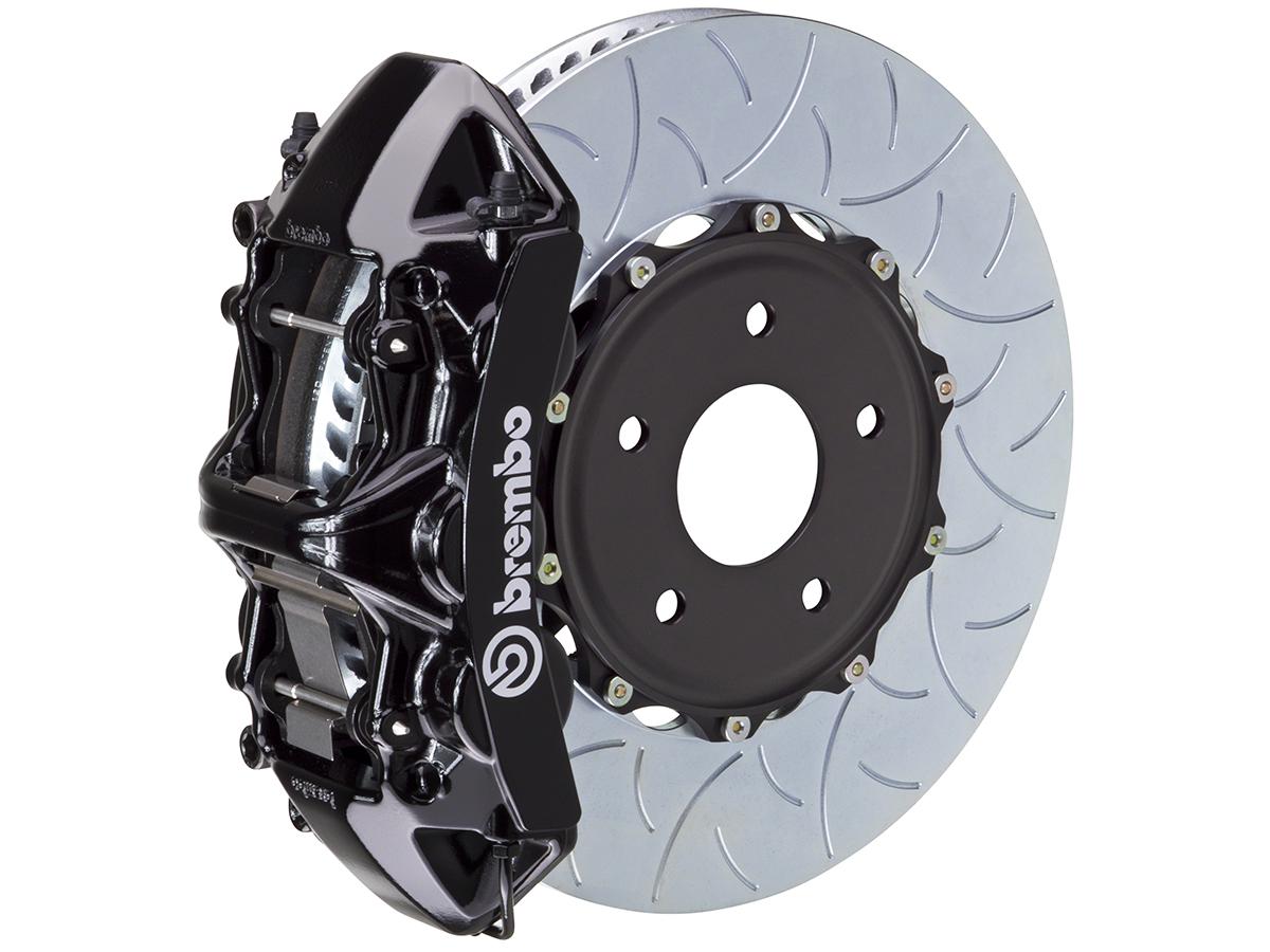 Brembo Brake Pads >> Brembo 370Z GT Monoblock 6-Piston Front Brake Caliper ...