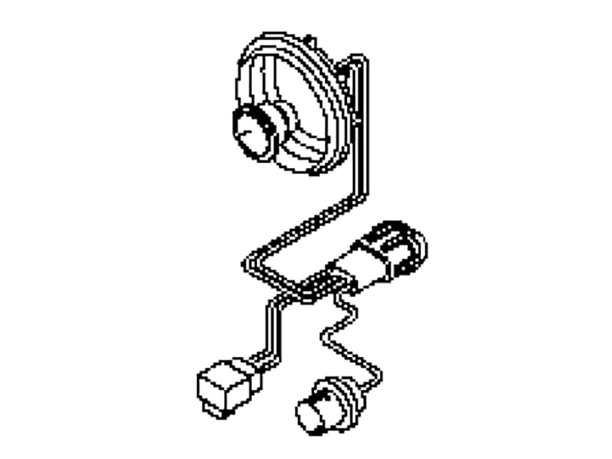 oem fx35    fx45 headlight harness  z1 motorsports